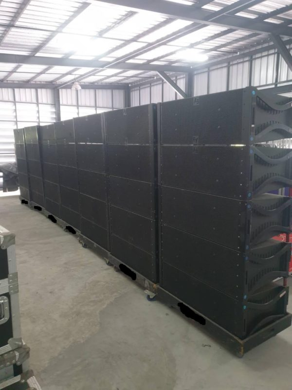 EV XLC DVX+, XSub and Amps Line Array Package